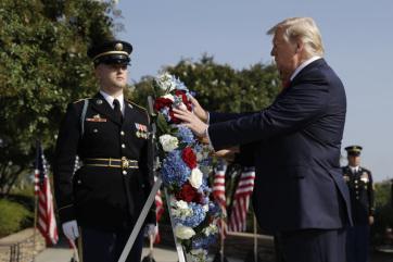 A 2001. szeptember 11-i terrortámadások áldozataira emlékeztek az Egyesült Államokban - A cikkhez tartozó kép