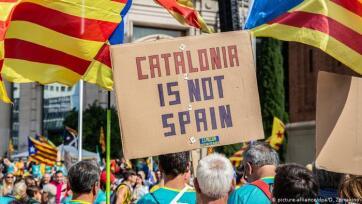 Barcelonában mintegy hatszázezren vonultak utcára a katalán nemzeti ünnepen - A cikkhez tartozó kép
