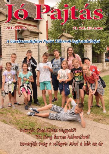 Jó Pajtás (2019. szeptember  12.): Vajdaság 73 általános iskolájában van magyar nyelvű oktatás - A cikkhez tartozó kép