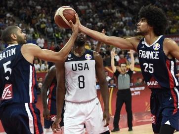Kosárlabda vb: Nem lesz címvédés, Franciaország legyőzte az USA-t - A cikkhez tartozó kép