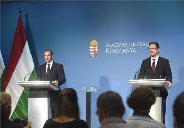 Gulyás: Elismerés Magyarországnak az uniós biztosjelölti terület - A cikkhez tartozó kép
