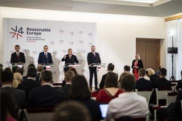 Višegradska četvorka: Odlučna podrška integraciji zemalja Zapadnog Balkana - A cikkhez tartozó kép