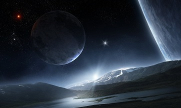 Folyékony víz a Naprendszeren kívül - A cikkhez tartozó kép