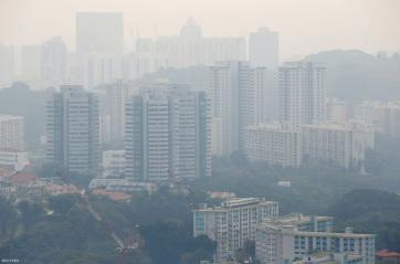 Szingapúrban három éve nem volt ilyen erős a légszennyezettség - A cikkhez tartozó kép