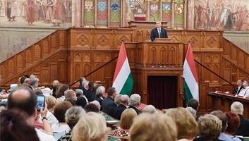 Orbán a KÉSZ-kongresszuson: Mutassuk meg a világnak, milyen a keresztény szabadságra épített élet! - illusztráció