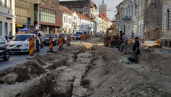 Kolozsvár egyik középkori városkapujának az alapját találták meg egy útfelújítás során - illusztráció