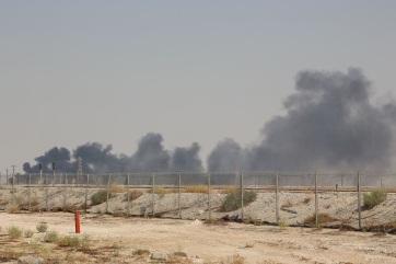 A felére csökkent a szaúdi olajkitermelés a dróntámadások miatt - A cikkhez tartozó kép
