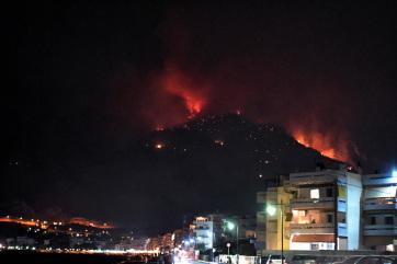 Egy nap alatt 80 új erdőtűz ütött ki Görögországban - A cikkhez tartozó kép