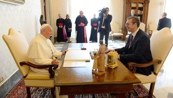 Papa Franjo podržava što skoriji prijem Srbije u EU - illusztráció