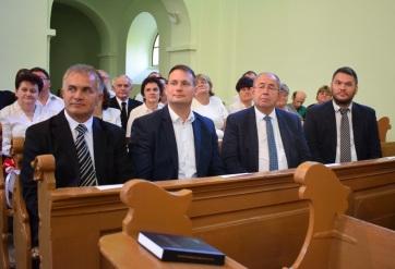 Kárpát-medencei református testvérgyülekezetek találkoztak Pacséron - A cikkhez tartozó kép