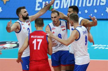 Röplabda: A szerb férfi-válogatott Szlovákiát is legyőzte - A cikkhez tartozó kép
