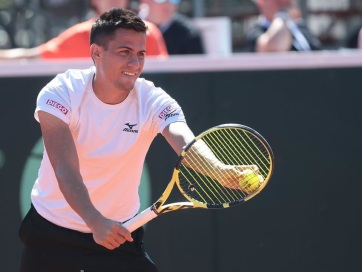 Tenisz: Magyarország legyőzte Ukrajnát a Davis-kupában - A cikkhez tartozó kép