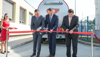 Megnyitotta a Mol első szerbiai üzemanyag-terminálját - illusztráció