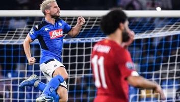 Labdarúgás BL: A Napoli legyőzte a Liverpoolt - illusztráció