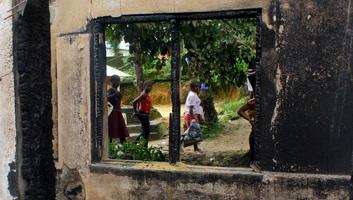 Tűz ütött ki egy libériai iskolában, sokan meghaltak - illusztráció