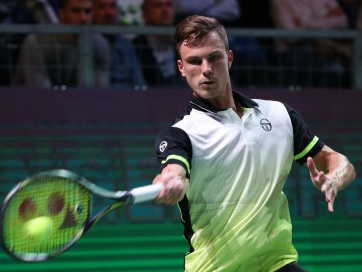 Tenisz : Fucsovics győzelemmel kezdett Szentpéterváron - A cikkhez tartozó kép
