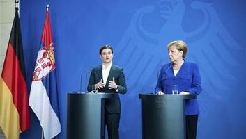 """Brnabić Merkellel tárgyalt: """"Koszovó az egyetlen kérdés, amelyben nem értettünk egyet"""" - illusztráció"""