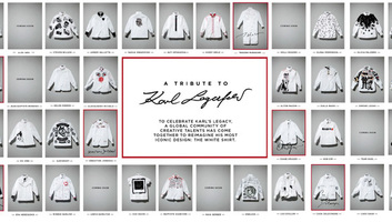 Fehér ingekkel tisztelegnek világhírű barátai Karl Lagerfeld emléke előtt - illusztráció