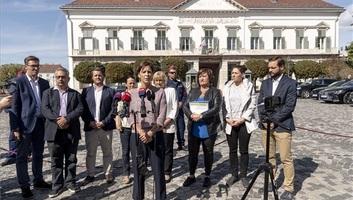 Klímaügyi javaslatokat vittek az államfőnek ellenzékiek - illusztráció