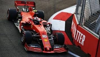 F1: Leclerc indulhat az élről Szingapúrban - illusztráció