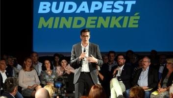 Karácsony Gergely szabad, zöld és szolidáris Budapestet célzó programot hirdetett - illusztráció