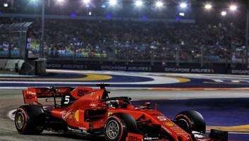 F1: Vettel nyert Szingapúrban - illusztráció