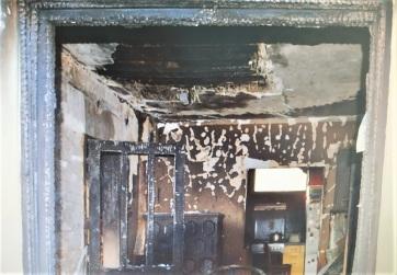 Óbecse: Példátlan összefogással újítják fel a rendőrök társuk leégett házát - A cikkhez tartozó kép