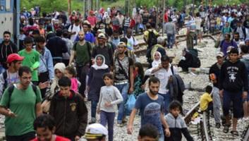 A leszboszi menekülttábor visszafordítja az érkezőket - illusztráció