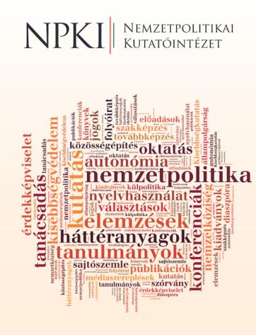 Megjelent az NKI Hungarian Journal of Minority Studies című angol nyelvű folyóiratának legújabb száma - A cikkhez tartozó kép