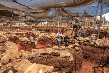 Ötezer éves nagyváros maradványaira bukkantak Izraelben - A cikkhez tartozó kép