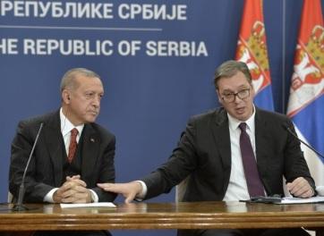 Vučić: Törökország és Szerbia kapcsolata minden korábbinál jobb - A cikkhez tartozó kép