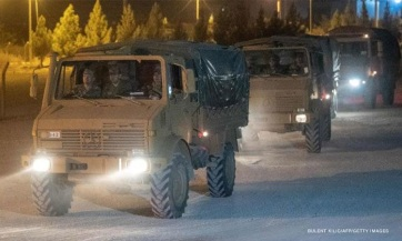A török elnök bejelentette, hogy megkezdődött a török hadművelet Északkelet-Szíriában - A cikkhez tartozó kép