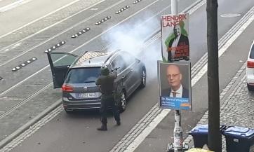 Lövöldözés volt a németországi Halléban, ketten meghaltak - A cikkhez tartozó kép