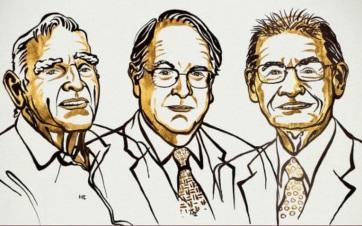A lítiumion-akkumulátor kifejlesztéséért hárman kapják a kémiai Nobel-díjat - A cikkhez tartozó kép