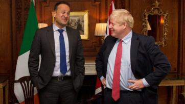 """Johnson és Varadkar találkozója a Brexit előtt: """"Van olyan ösvény, amely elvezethet a megállapodáshoz"""" - A cikkhez tartozó kép"""