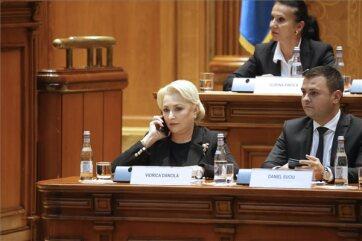 Román kormányválság: Megbukott a parlamenti voksoláson Viorica Dancila szociáldemokrata kormánya - A cikkhez tartozó kép