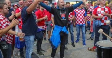Labdarúgás: Összecsaptak a magyar és a horvát szurkolók Splitben - A cikkhez tartozó kép