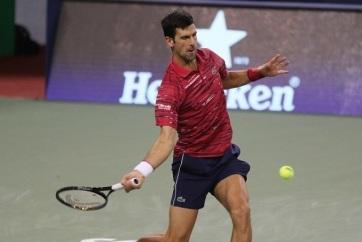 Tenisz: Đoković negyeddöntős Sanghajban - A cikkhez tartozó kép