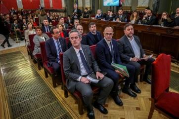 Napi fotó: Zendülés miatt kilenc katalán...