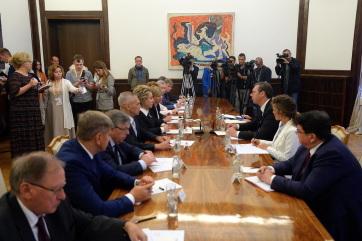 Vučić: Meg akarják szüntetni a koszovói Szerb Listát - A cikkhez tartozó kép