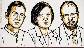 Hárman kapták megosztva az idén 50. alkalommal kiosztott közgazdasági Nobel-emlékdíjat - illusztráció