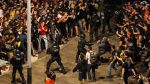 Folytatódnak a tüntetések és az összetűzések kedd este Katalóniában - illusztráció