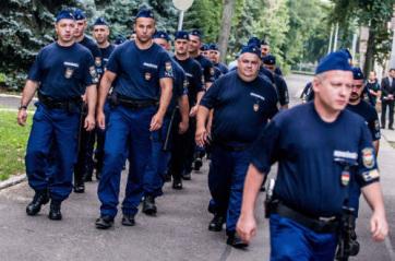 Továbbra is magyar rendőrök segítik Észak-Macedónia és Szerbia határőrizetét - A cikkhez tartozó kép