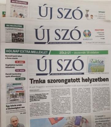 Főszerkesztőváltás a szlovákiai magyar napilapnál - A cikkhez tartozó kép