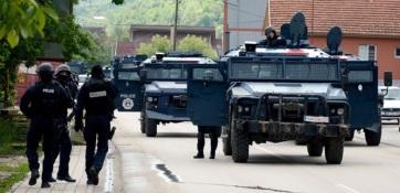 A koszovói különleges alakulatok benyomultak Észak-Koszovóba - A cikkhez tartozó kép