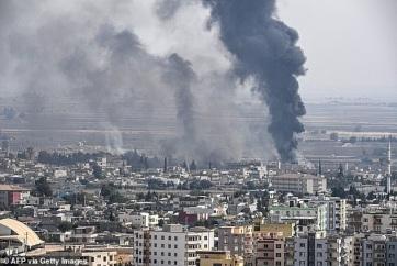 Ankara cáfolja, hogy a török hadsereg vegyi fegyvert vet be Északkelet-Szíriában - A cikkhez tartozó kép