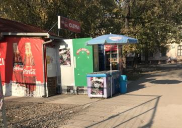 Megkezdték a buszmegálló felállítását Óbecsén - A cikkhez tartozó kép