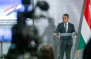 Potápi: A magyar nemzetpolitika sikeres éveket tudhat maga mögött - A cikkhez tartozó kép