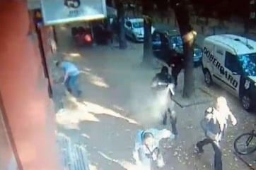 Videón a szabadkai bankrablás pillanatai - A cikkhez tartozó kép