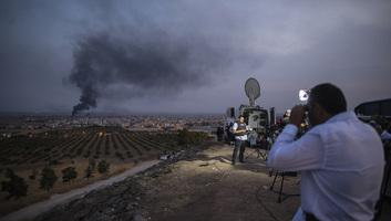 Fél napig tartott a tűzszünet Szíriában: A török erők újra támadnak - illusztráció